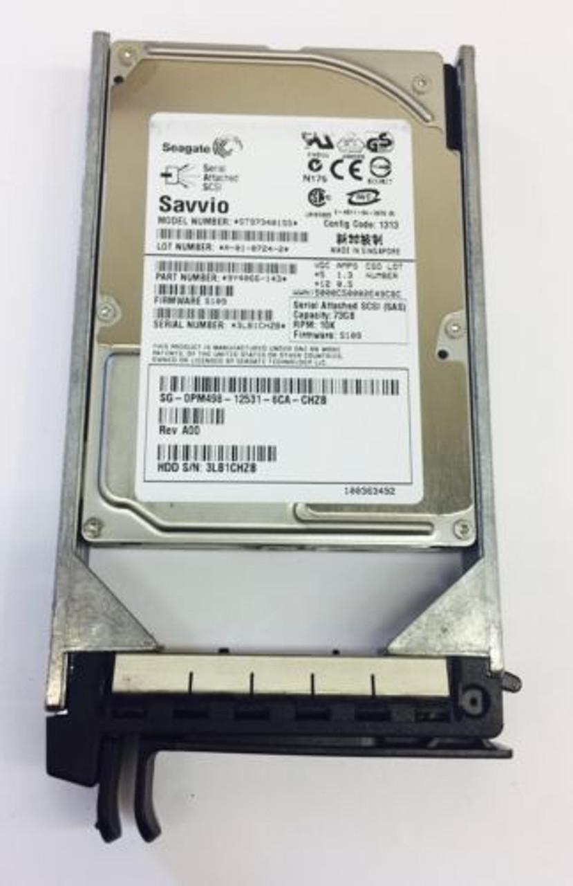 Dell PM498 73GB SAS 10K 2.5