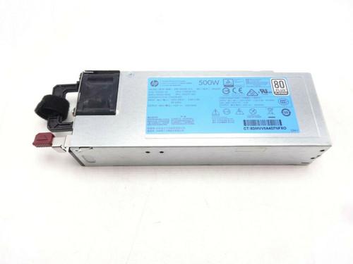 HP 754377-001 500W Flex Splot Platinum 80Plus Hot Plug Power Supply