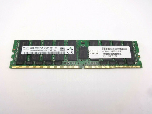 Hynix HMA84GL7AMR4N-TF 32GB 4Rx4 PC4-17000 2133P LRDIMM Server Memory