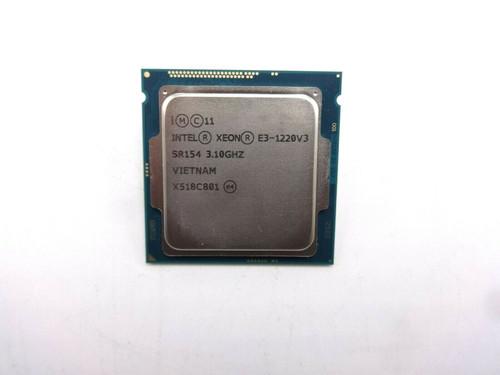 Intel SR154 Xeon Quad Core E3-1220 V3 3.1GHz Processor Chip