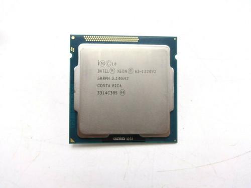 Intel Xeon SR0PH Quad Core QC 3.1GHz 8MB E3-1220 V2 Processor