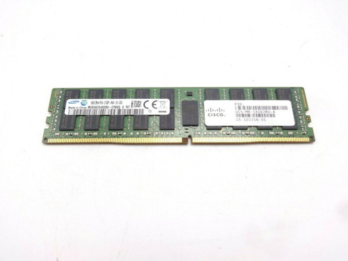 Cisco UCS-MR-1X162RU-A 16GB 2Rx4 PC4-2133P Server Memory Module 15-102213-01