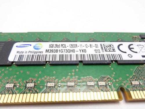 Samsung M393B1G73QH0-YK0 8GB PC3L 12800R 2Rx8 Server Memory