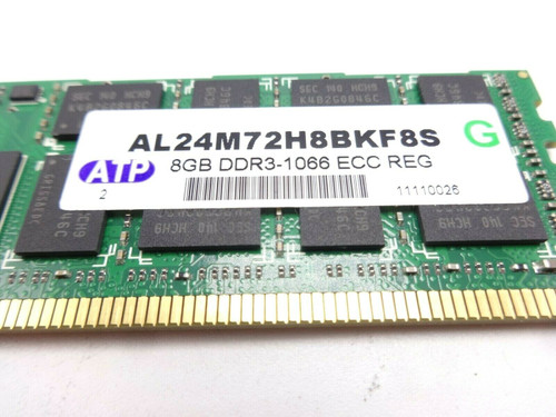 APT AL24M72H8BKF85 8GB 10600 PC3 DDR3 Server Memory Dimm