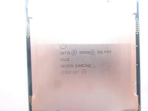 Intel Gold SR3GN 4112 2.6Ghz 4Core Processor