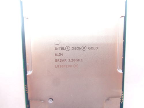 Intel Gold SR3AR 6134 3.2Ghz 8Core Processor