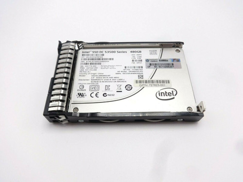 HP 718138-001 480GB 6G SATA VE 2.5 SSD Solid State Hard Drive