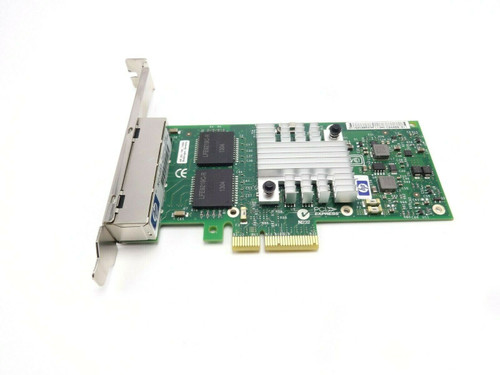 HP 593743-001 NC365T 4 Port NIC High Porfile Bracket Server Adapter