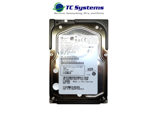 Dell MAX3073RC H8799 73GB SAS 15k 3.5 Hard Drive