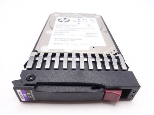 HP 718291-001 1.2TB 10K 6G DP 2.5 SAS hard drive