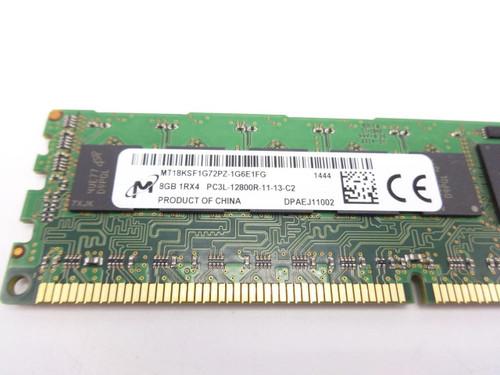 Micron MT18KSF1G72PZ-1G6E1 8GB PC3L 12800R 1RX4 memory dimm ***Server memory**