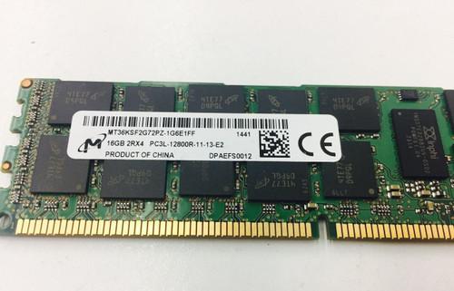MICRON MT36KSF2G72PZ-1G6E1 16GB PC3L 12800R 2RX4 memory dimm