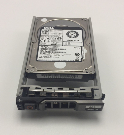 DELL 3NKW7 300GB 10K 2.5' 12GBPS SAS HDD HDEBF05DBA51