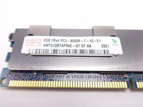 HYNIX HMT31GR7AFR4C-G7 8GB PC3 8500R 2Rx4 memory dimm ***Server memory only***