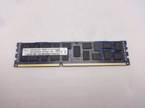 Hynix HMT42GR7BFR4A-PB 16GB PC3L 12800R 2RX4 Server Memory Only