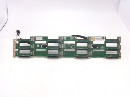HP 777284-001 DL380 G9 3.5 12-BAY Hard Drive Backplane Board
