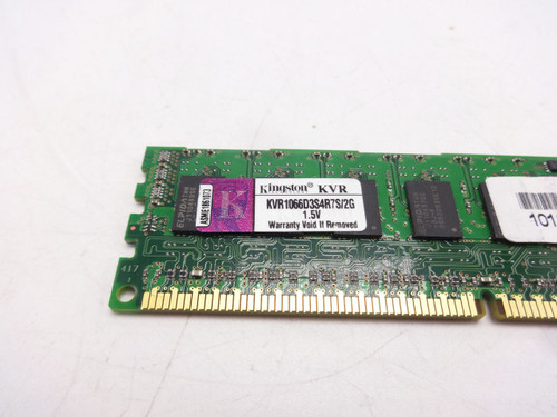 KVR1066D3S4R7S/2G Kingston 2GB PC3 8500 1066 Memory