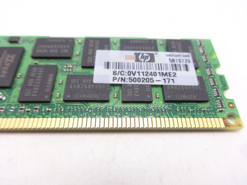 HP 593913-B21 HP 8GB (1X8GB) 2RX4 PC3-10600R-9 memory kit