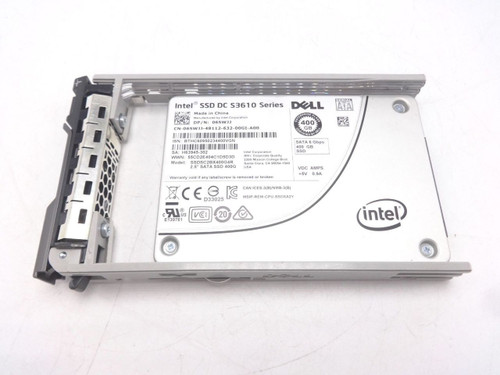 Dell 65WJJ 400GB MLC 2.5 6GBPS SSD Hard Drive