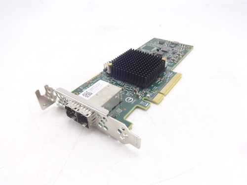 Dell J91FN 12GB/S SAS HBA PCI-E Dual Port Card