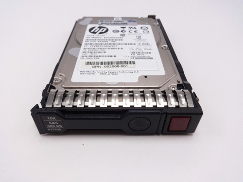 HP 653955-001 300GB 6G 10K 2.5 SAS dual port hard drive 597609-001 507129-004