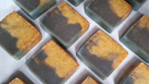Lemon Eucalyptus Essential Oil Bath Bar