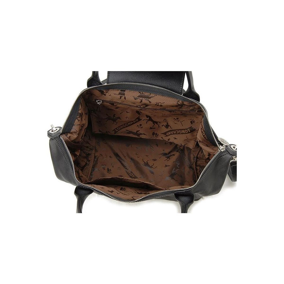Small Le Pliage Cuir Top Handle - 1512737