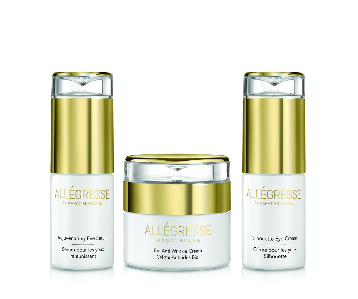 ALLEGRESSE 24K Gold Eye & Bio Thermal Set BIB23