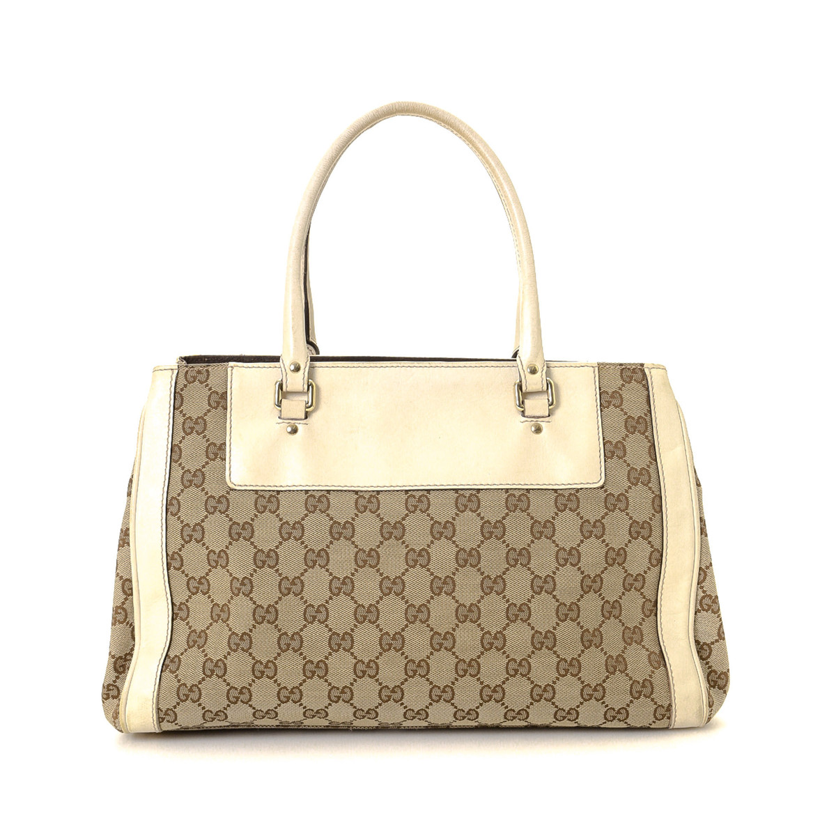 GG Canvas Trophy Handbag