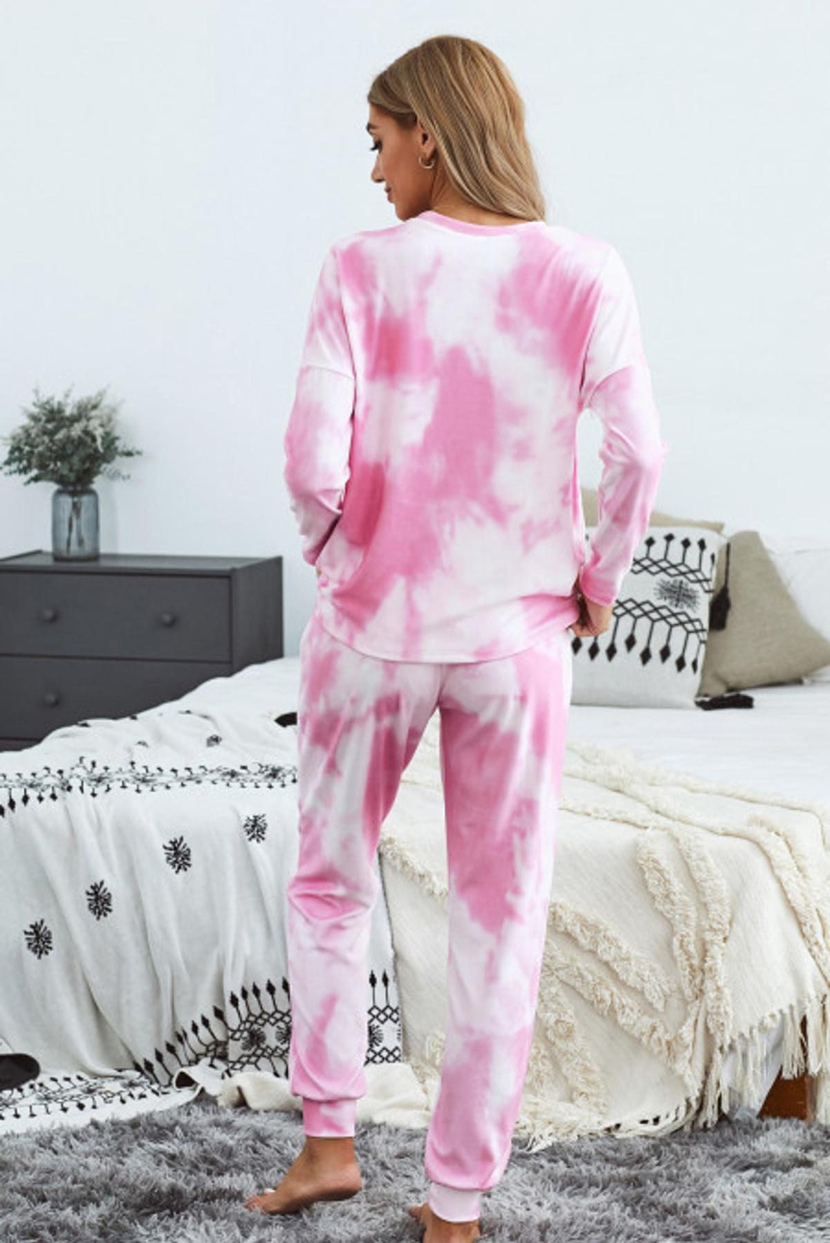 Tie Dye Long Sleeve & Joggers Set (FRE45037-10)  FRE4503710PS