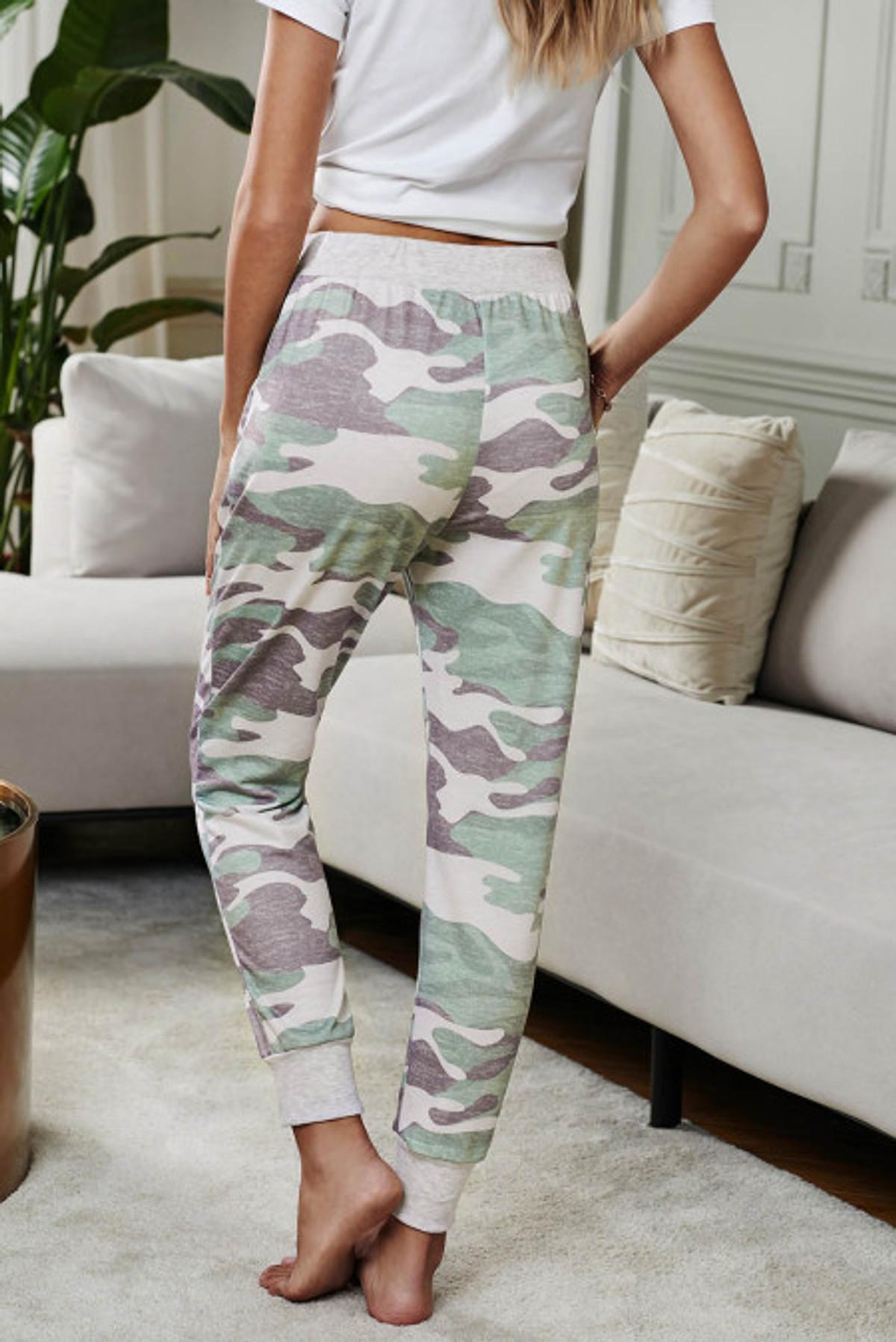 Camo Print Lounge Pant (FRE77040-109)  FRE77040109FL