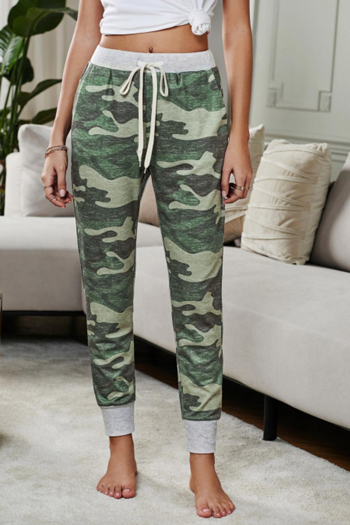 Camo Print Lounge Pant (FRE77040-9)  FRE770409FL