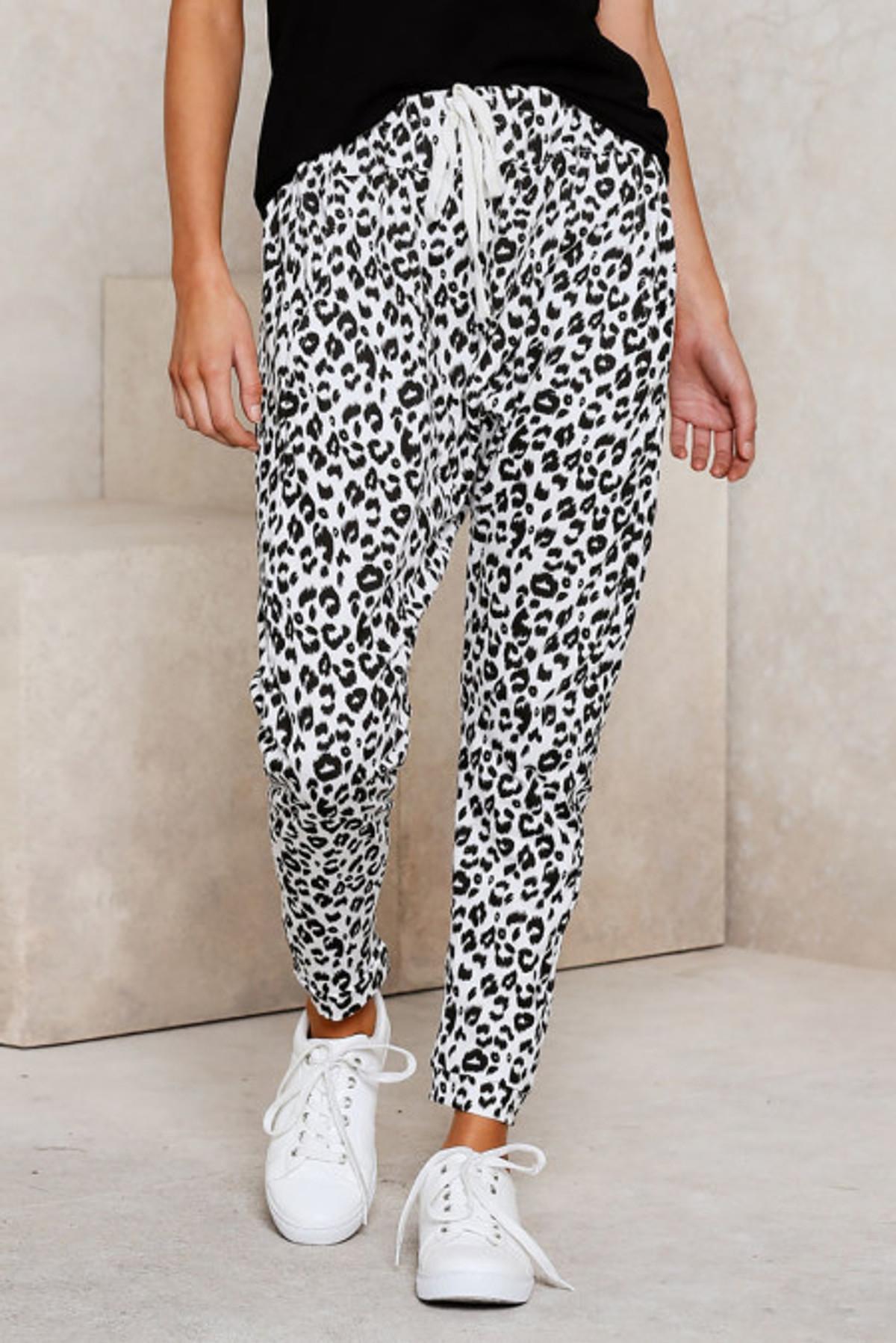 Leopard Print Lounge Pant (FRE77289-1 )  FRE772891WL