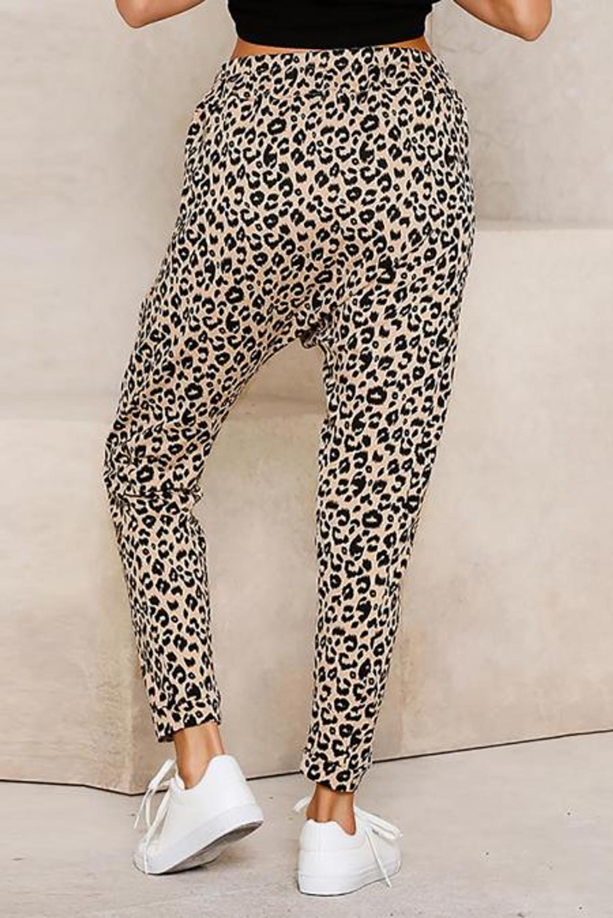 Leopard Print Lounge Pant (FRE77289-16)  FRE7728916PL