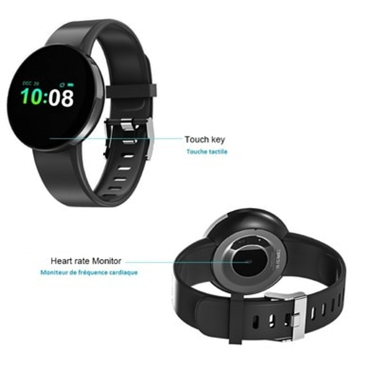 Multi-Function Compatible iOS & ANDROID GPD Watch WAC 58