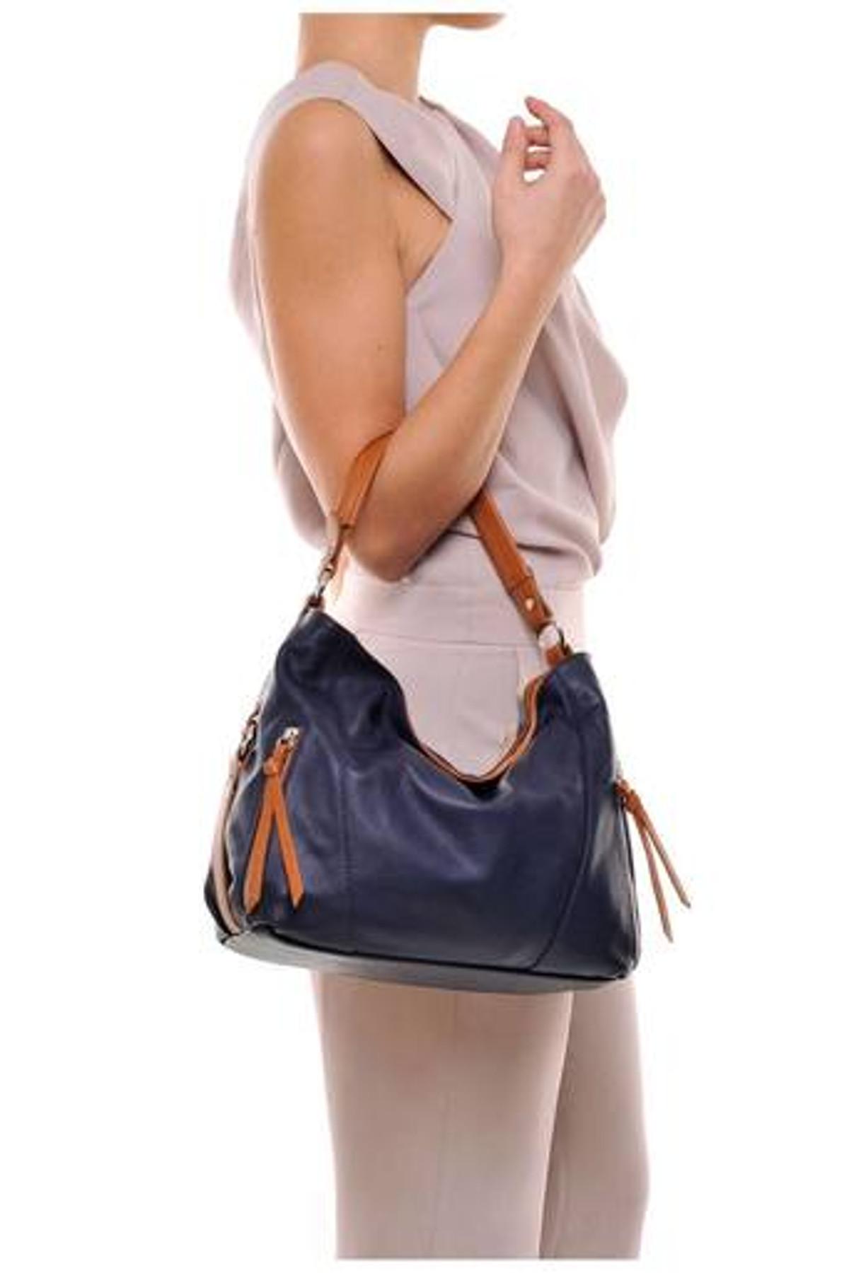 Genuine Cow Leather Handbag WB158034