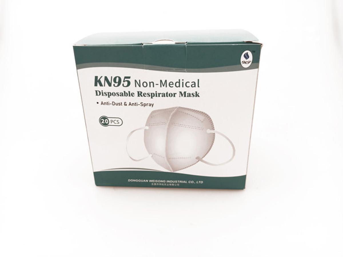 KN95 5-Layer Disposable Respirator Masks (20 PCS)