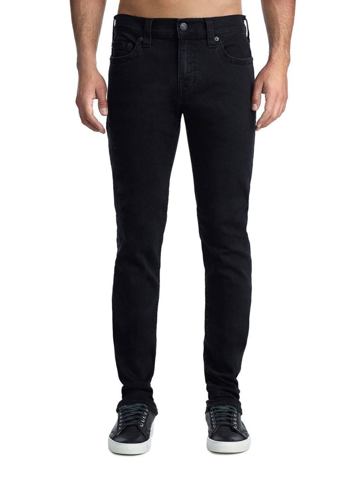 Embroidered Rocco Skinny Jean in Magnetic Field