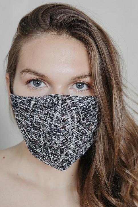 Tweed Grey Mask