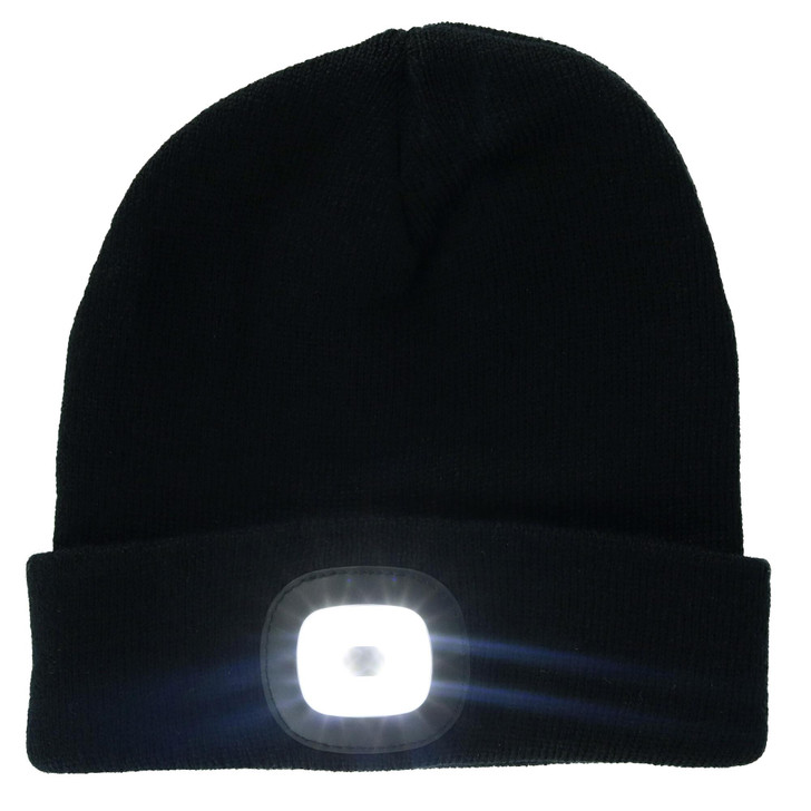 LED Rechargeable Beanie Hat