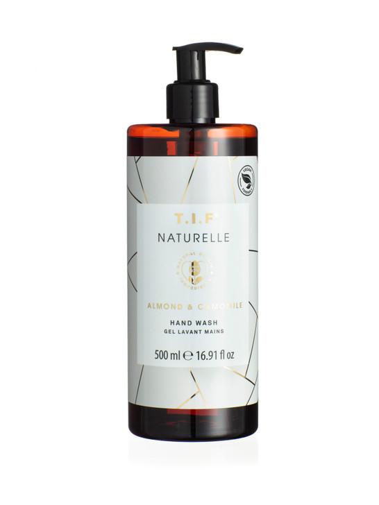 6438354002960 T.I.F. Naturelle - Almond and Chamomile Hand Wash