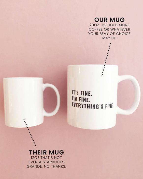 """Abcdefuckyou.''  Mug"