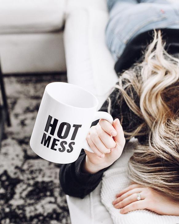 """""""Hot Mess""""  Mug"""