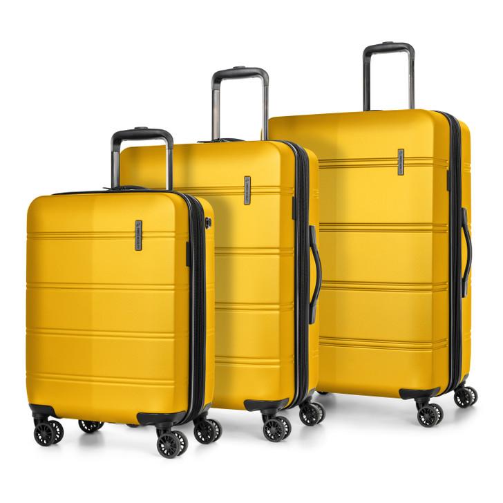 Swiss Mobility 3 Piece Hardside Lightweight Luggage Set