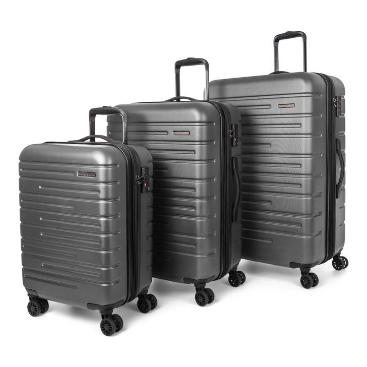 Bugatti 3 Piece Hardside Luggage Set