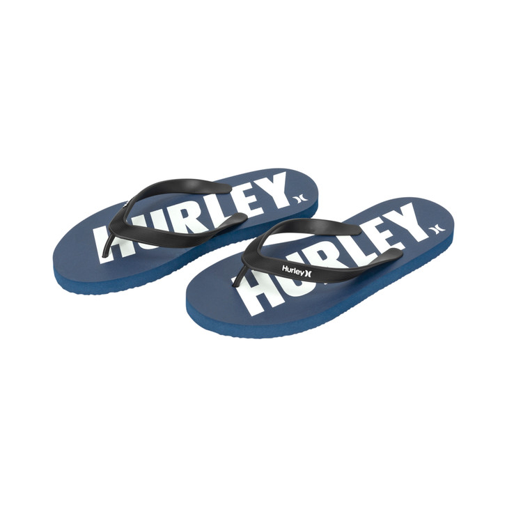 Hurley Mens One and Only Fastlane Flip Flop