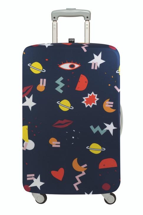 Loqi Luggage Cover - Celeste Wallaert