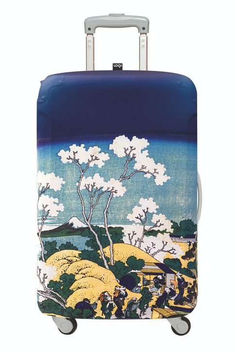 Loqi Luggage Cover - Hokusai