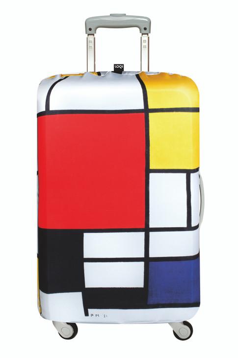 Loqi Luggage Cover - Piet Mondrian