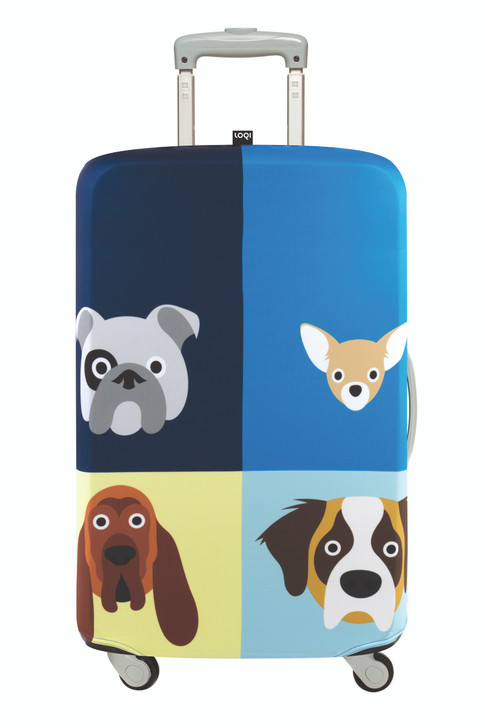 Loqi Luggage Cover - Stephen Cheetham Dogs